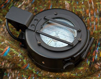 British Army Prismatic Marching Compass